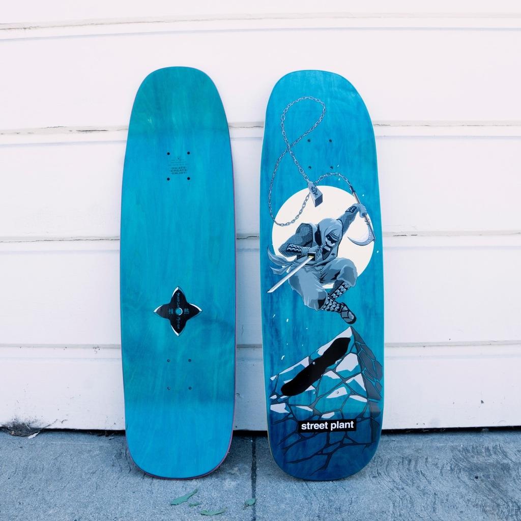 Silent Ninja skate deck